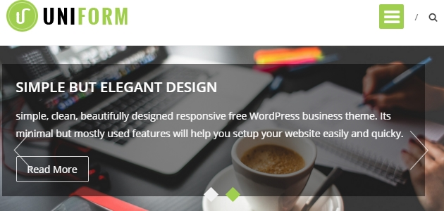 Uniform: Clean Agency WordPress Theme