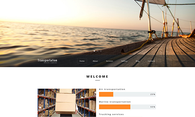 16. transportation-wordpress-theme