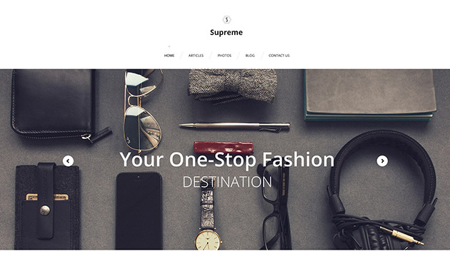 3. supreme wpml ready wordpress theme