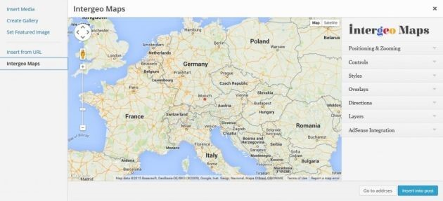 Intergeo Maps First Glance