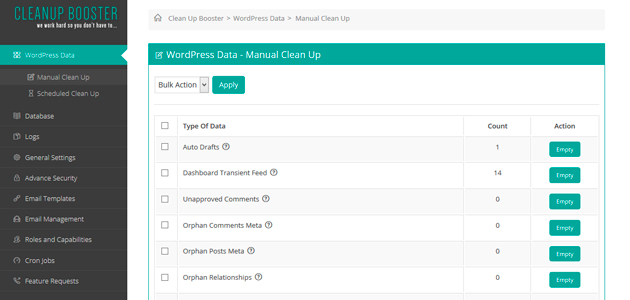 Clean Up Booster: DB & WordPress Optimizer Plugin