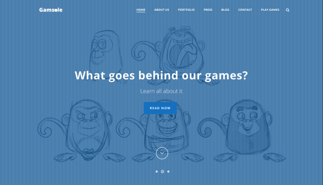 jupiter-business-wordpress-theme-sample-gamsole