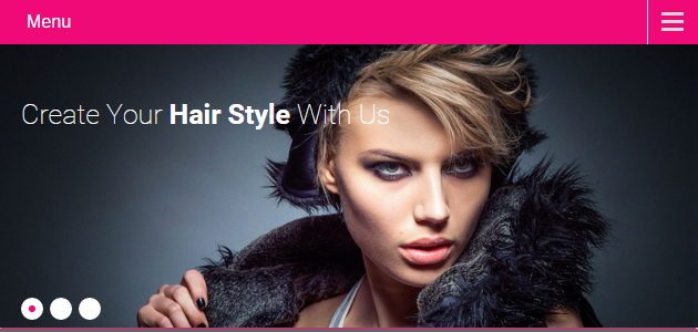 Hair Salon: Fashion Hairdresser WordPress Theme