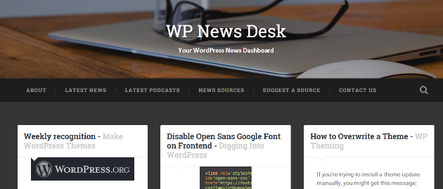 wp-news-desk