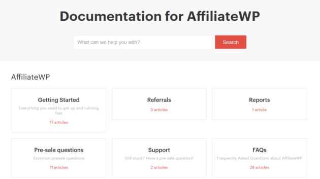 AffiliateWP Documentation