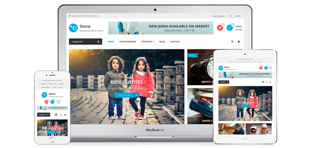 EStore: WooCommerce Responsive WordPress Theme