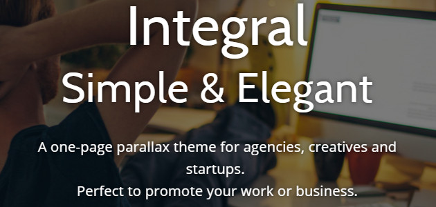 Integral: Fluid & Dynamic Responsive WordPress Theme