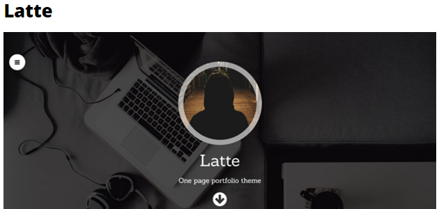 Latte: Parallax & Stylish WordPress Theme