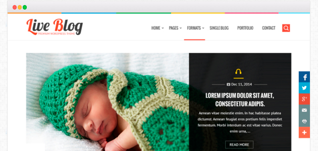 Liveblog: Premium Like and Complete WordPress Theme