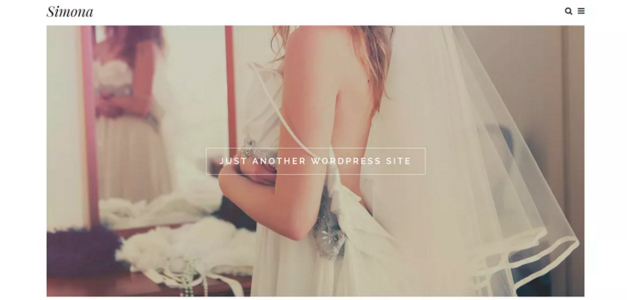 Simona: Elegant Wedding WordPress Theme