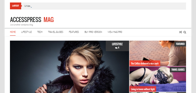 AccessPress Mag: Modern Magazine WordPress Theme