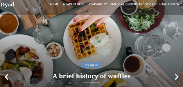 Amazing Collection of Restaurant WordPress Themes