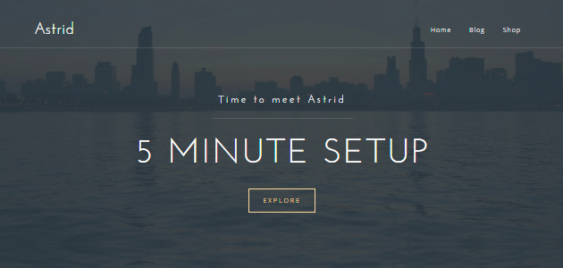 Astrid: Formal Business WordPress Theme