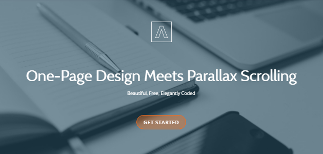 Llorix One: One-page Parallax WordPress Theme