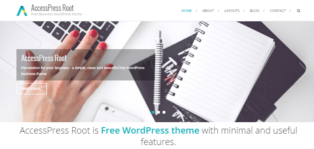 Root: Clean & Minimal Business WordPress Theme