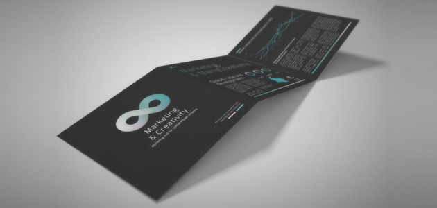 Teal: Neat Corporate Tri-Fold Template