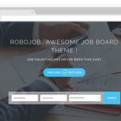 Robojob a Premium WordPress Job Theme, Powered by WP Job Manager