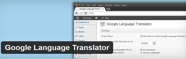 Google Language Translator - Multilingual Plugin