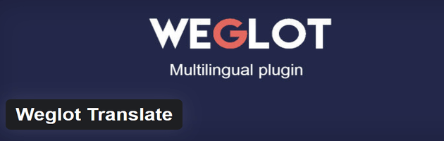 Weglot Translate - Multilingual Plugin