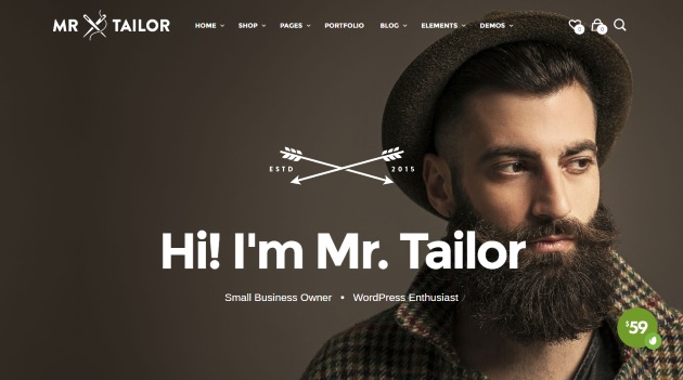 Mr. Tailor - Responsive WooCommerce Theme