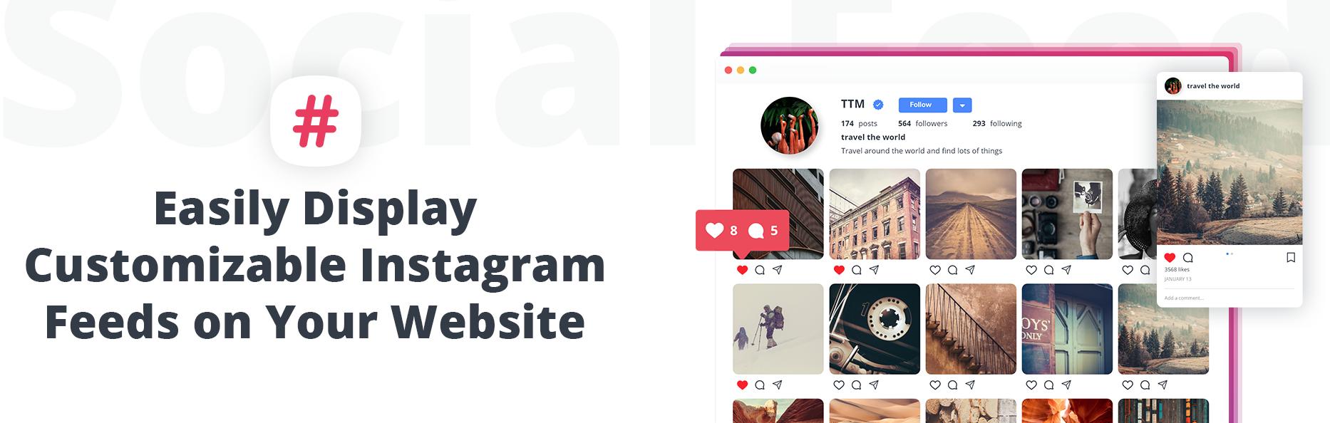 10Web Instagram Feed plugin for WordPress