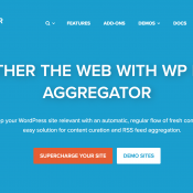 New WP RSS Aggregator Website Launched