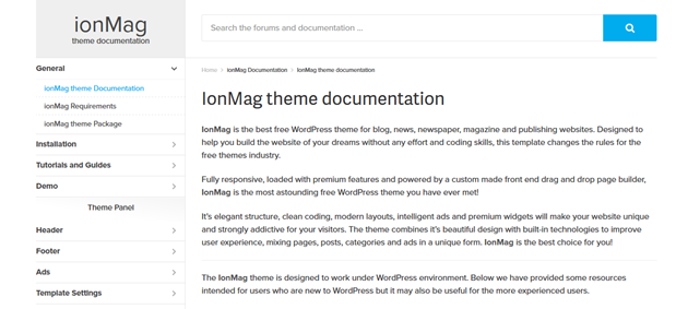 ionMag-Free-News-WordPress-Theme-Welcome-to-Documentation