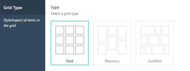 Choose a Grid Type