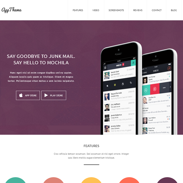 Best Landing Page Themes & App Themes for Products