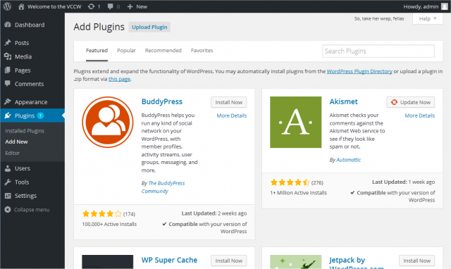 New WordPress Plugin