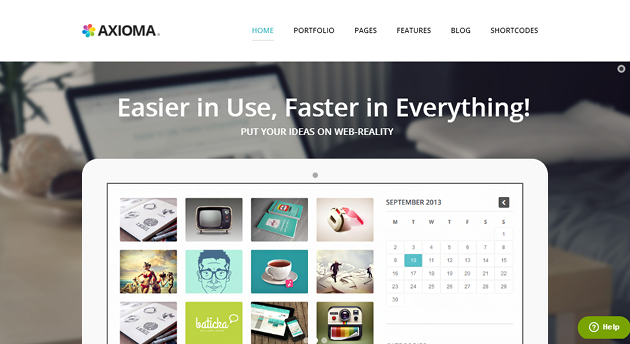 Axioma WordPress Theme