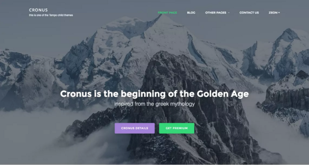 Cronus WordPress Theme