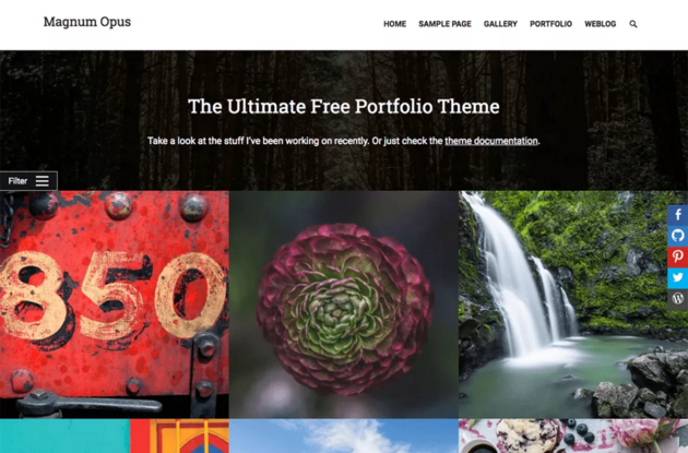 Magnum WordPress Theme