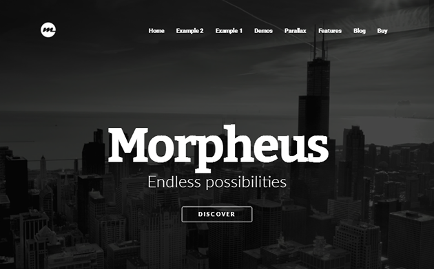 Morpheus WordPress Theme