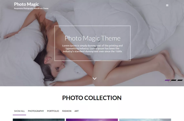 Photo Magic WordPress Theme