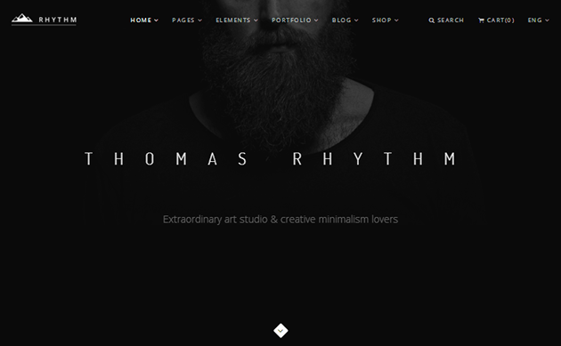 Rhythm WordPress Theme