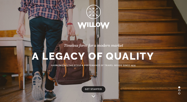 Willow WordPress Theme