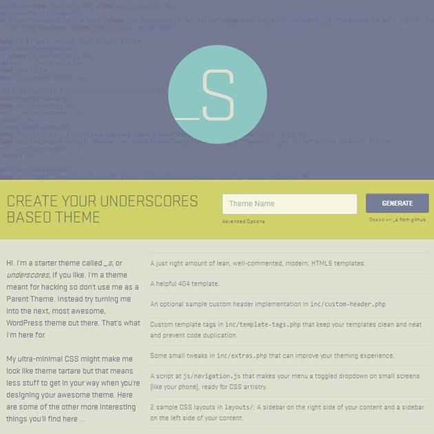 Starter Themes & Frameworks: 23 Best Options for WordPress