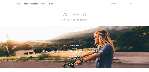 Activello Creative WordPress Theme