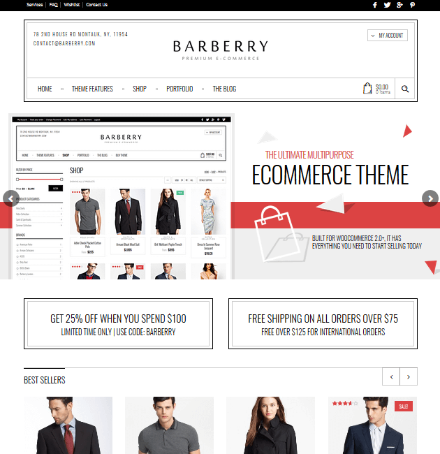 Barberry - eCommerce WordPress Themes