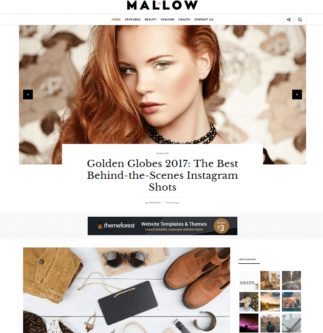 Mallow - Ad-Space WordPress Themes