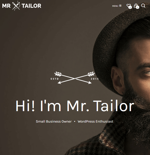 Mr. Tailor - eCommerce WordPress Themes