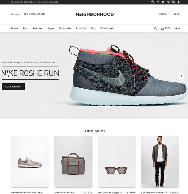 Neighborhood - eCommerce WordPress Themes