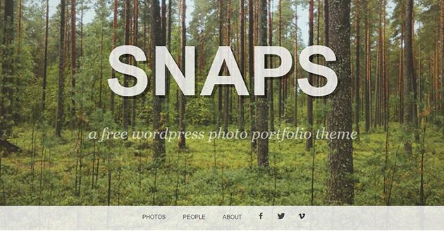 Snaps Portfolio Theme