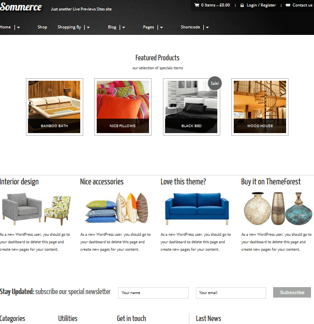 Sommerce Shop - eCommerce WordPress Themes