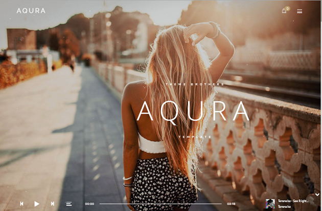 AQURA WordPress Theme