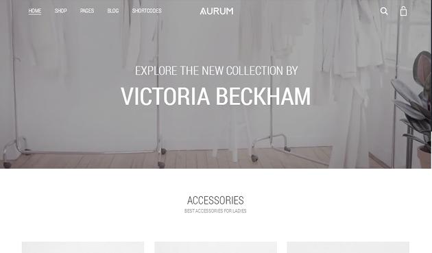 Aurumn WordPress Theme