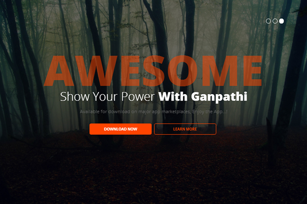 Ganpathi WordPress Theme
