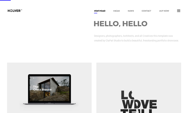 Holver WordPress Theme