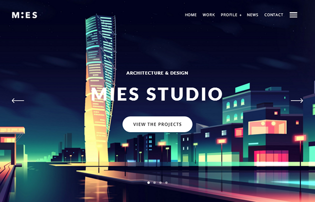 MIES WordPress Theme